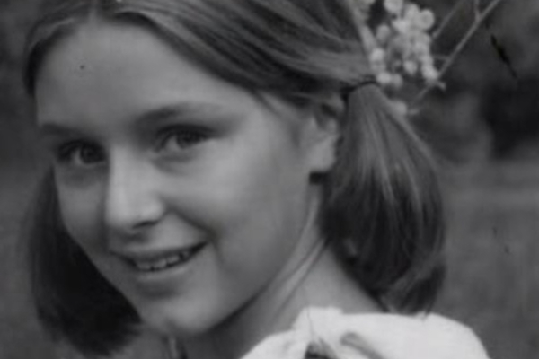 Samantha Geimer em 1977, uns dias antes de ser violada por Roman Polanski