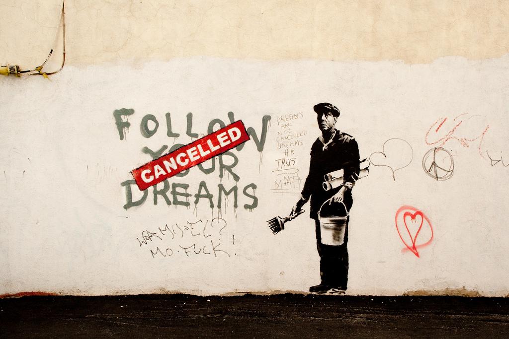 Mural de Banksy em Boston