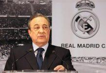 Florentino Pérez, presidente do Real Madrid
