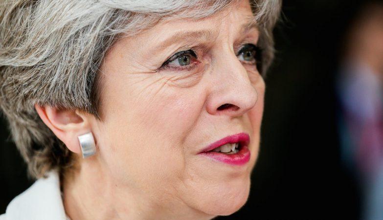 Theresa May, primeira-ministra britânica