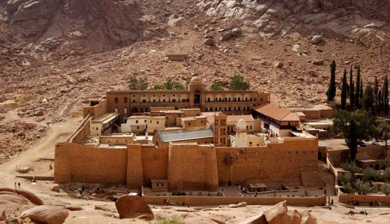 Mosteiro de Santa Catarina, em Sinai do Sul, no Egito