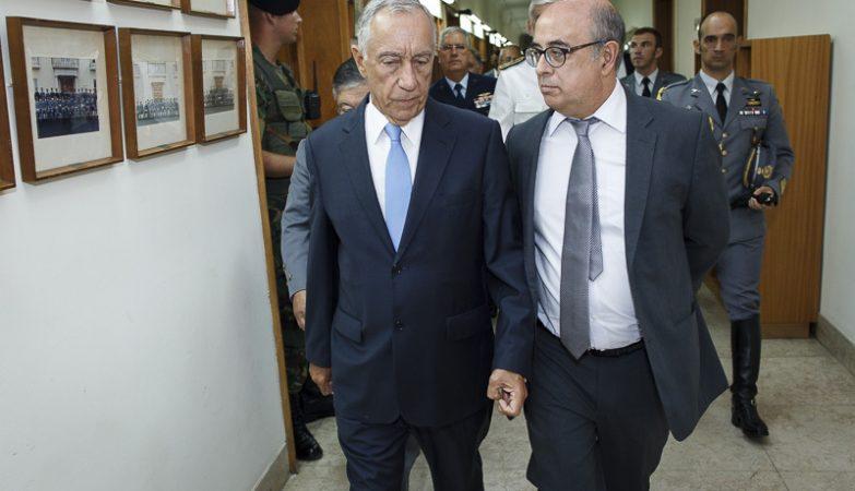 Presidente da República reúne-se com chefias militares em Tancos