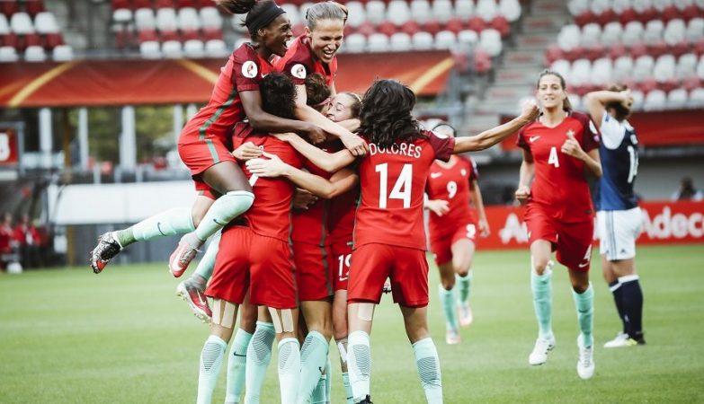 Portugal consegue primeira vitória numa fase final — Histórico