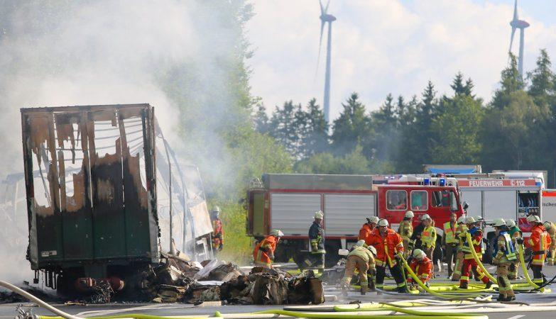 Confirmados 18 mortos em acidente com autocarro na Alemanha