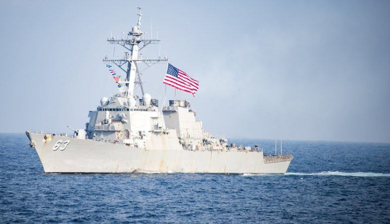 USS Stethen no Mar do Sul da China