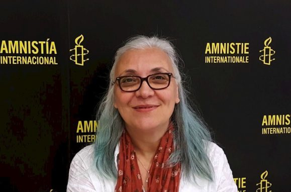 Idil Eser, diretora da Amnistia Internacional na Turquia