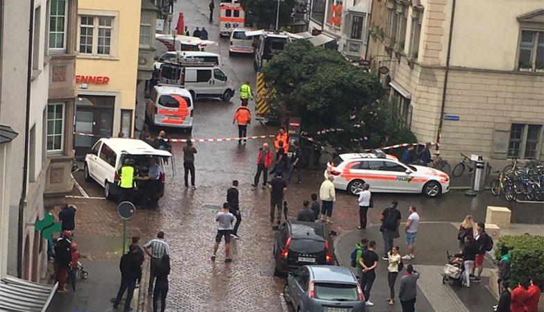 Homem com motosserra ataca várias pessoas na Suíça
