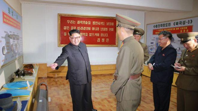 Coreia do Norte disparou