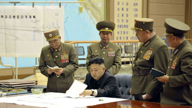Pyongyang lançou três mísseis de curto alcance