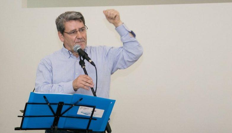 O antigo presidente da Câmara de Matosinhos, Narciso Miranda