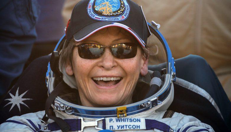 A astronauta Peggy Whitson bate recorde de tempo no espaço