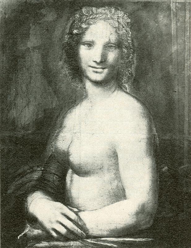 Museu Condé  Wikimedia Commons Monna Vanna ou a Mona Lisa nua