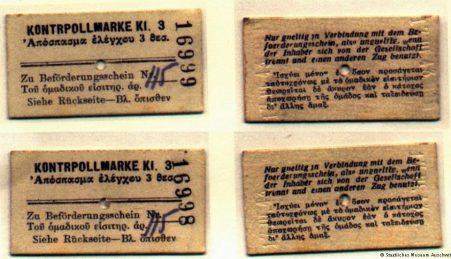 Recuperada mensagem enterrada por sobrevivente de Auschwitz