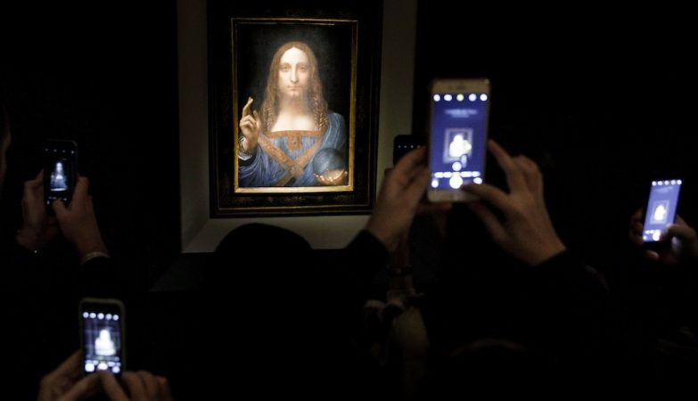 Quadro de Da Vinci é leiloado por preço recorde
