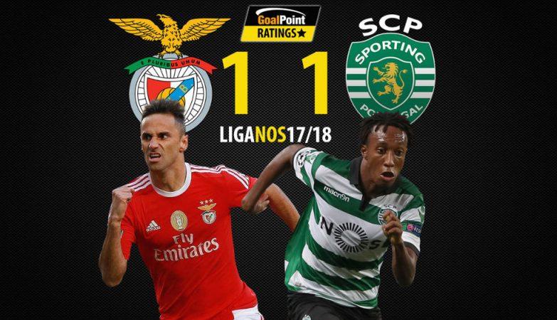 Benfica-Sporting: eis os onzes oficiais