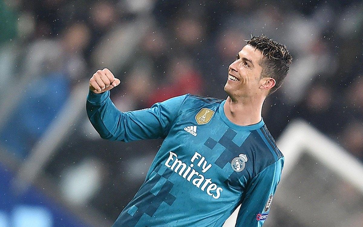 Cristiano Ronaldo marcou golo