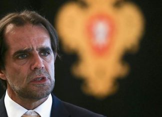 O Presidente do Governo Regional da Madeira, Miguel Albuquerque