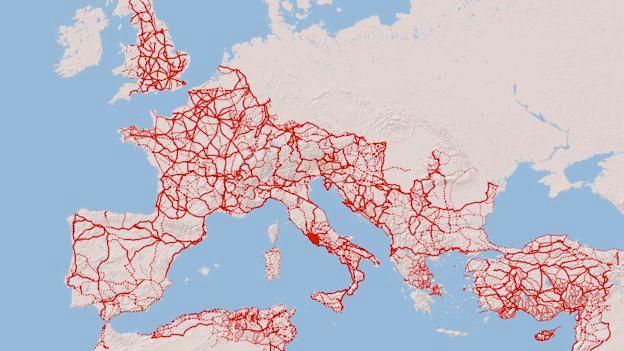 2 Mil Anos Depois A Rede De Estradas Romanas Continua A Gerar Riqueza