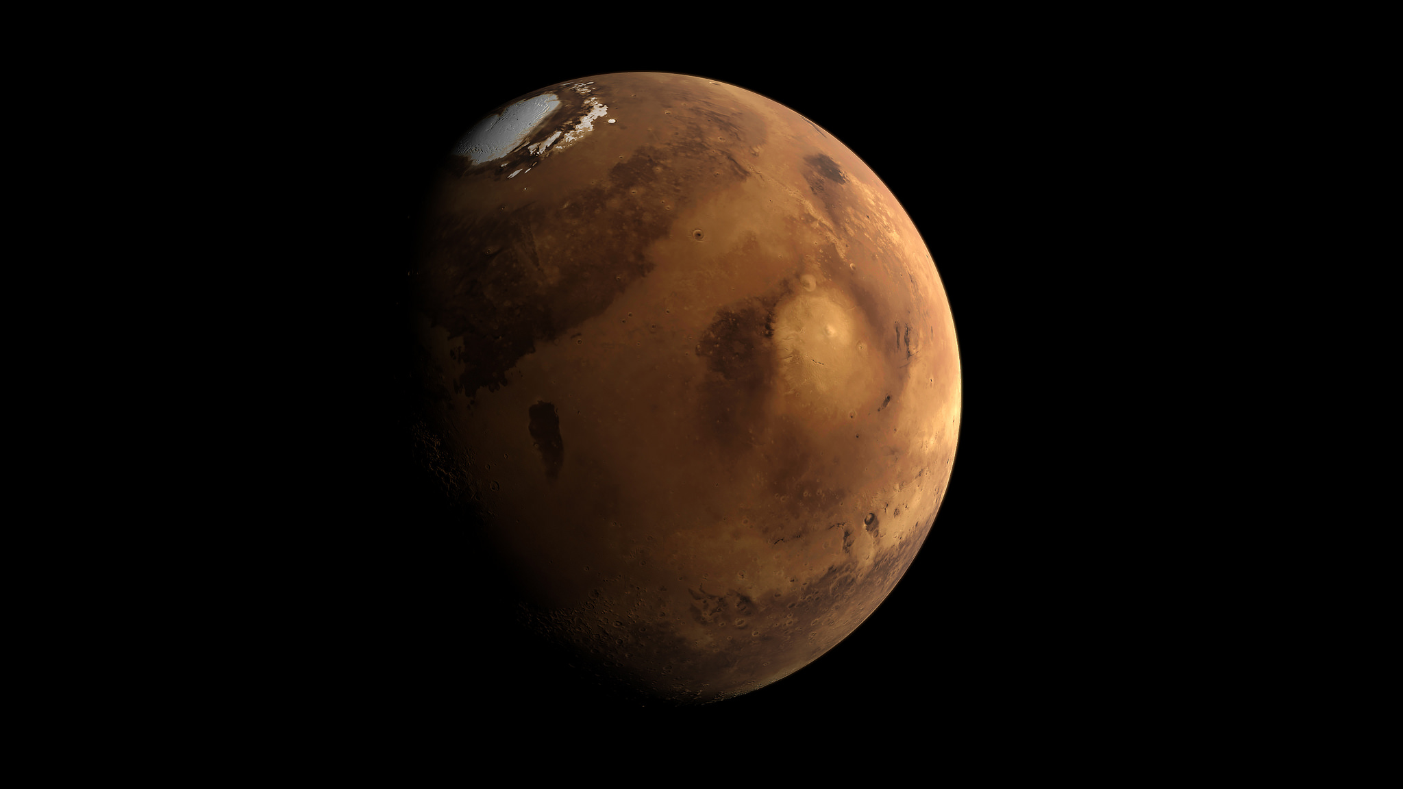 Mars may have had two water reservoirs (and no magma ocean)