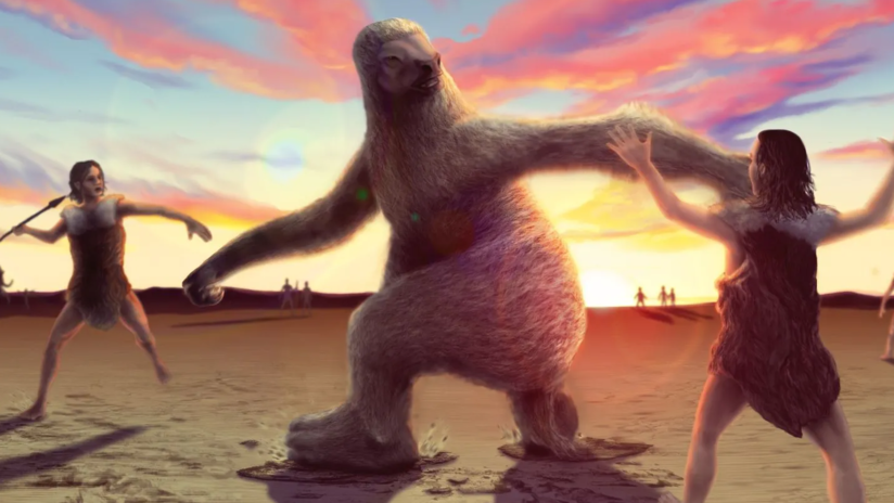 Giant sloths may have died contaminated with their feces