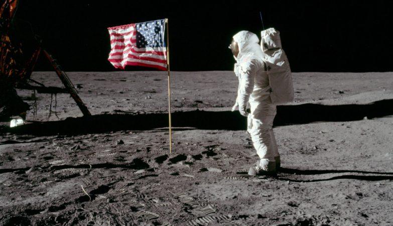 Edwin Aldrin na Lua