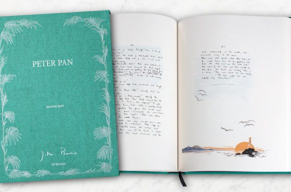 "Publication of original manuscript shows that Peter Pan had a ""dark side"""