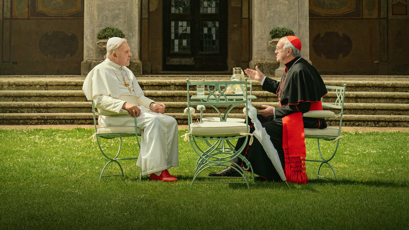 """Netflix was unable to film """"Two Popes"""" in the Sistine Chapel. So it built ..."""