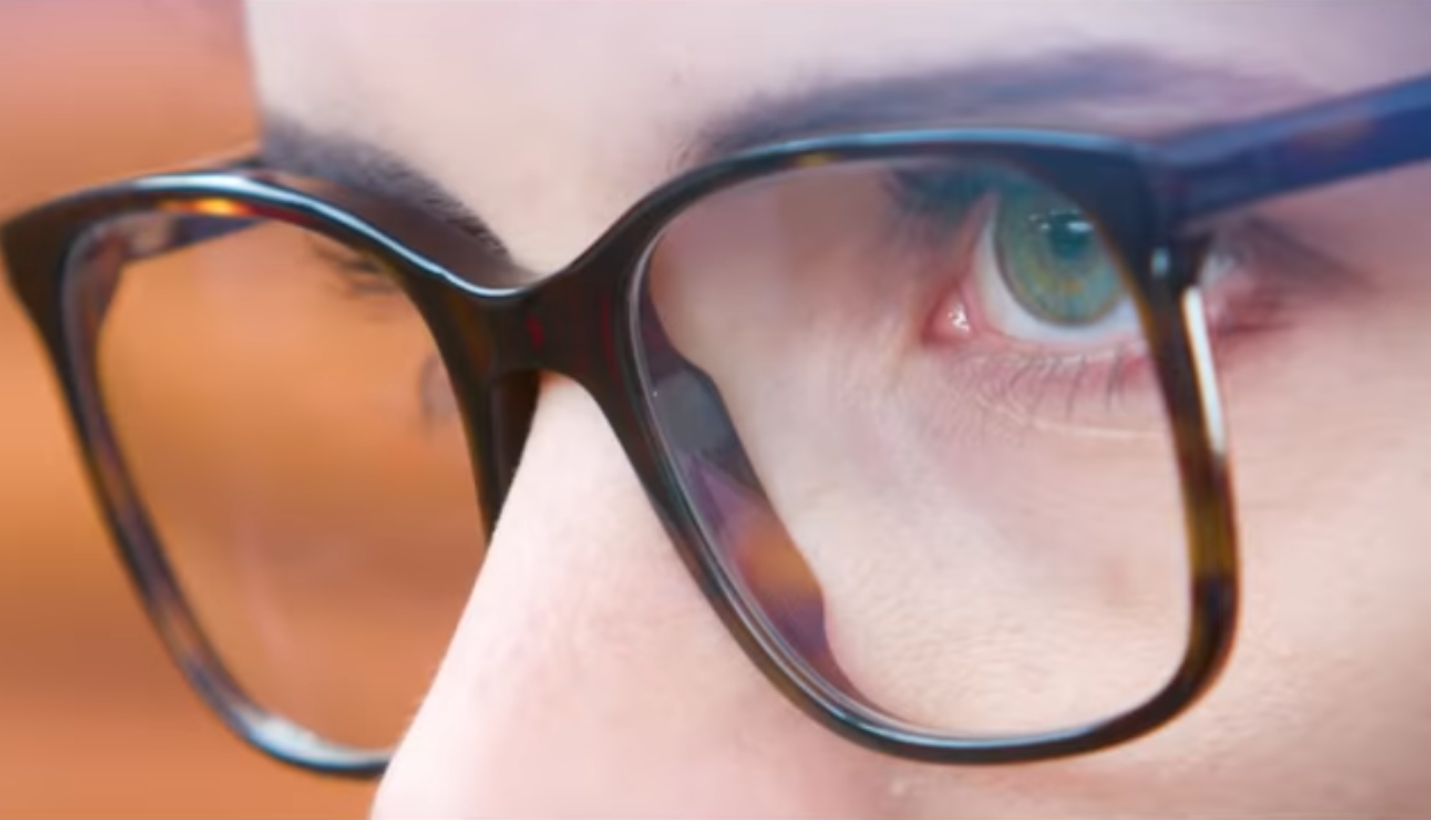 Smart glasses project images directly onto the retina