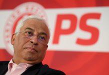 O secretário-geral do PS e primeiro-ministro, António Costa