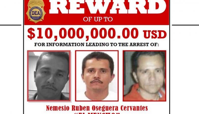 """El Mencho"""" é agora o criminoso mais procurado dos Estados Unidos - ZAP"""