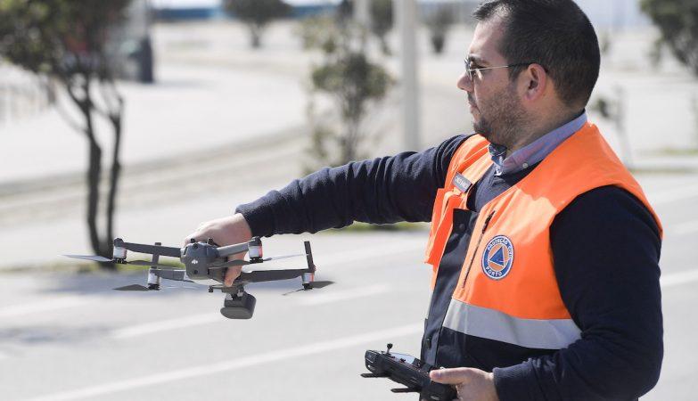 PSP vai utilizar câmaras portáteis em drones no estado de emergência