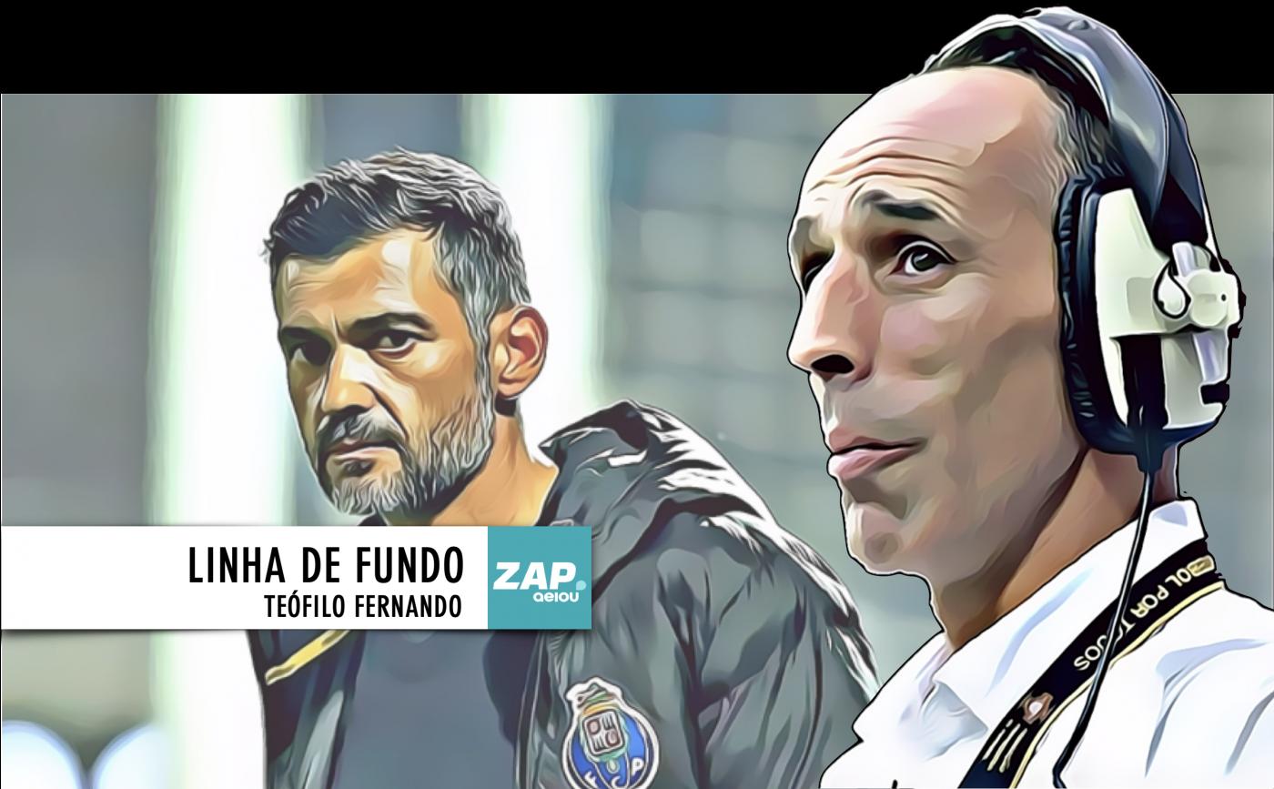 """Linha de Fundo: Benfica reforça liderança, mais recados de Conceição, um jardim de infância especial e João """"rosa"""" Almeida"""
