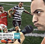 """Nota artística: fumo, fogo… """"Fazer o quê? É o futebol português"""""""