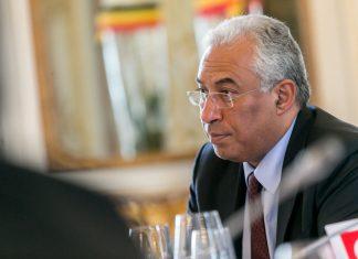 O O primeiro-ministro, António Costa