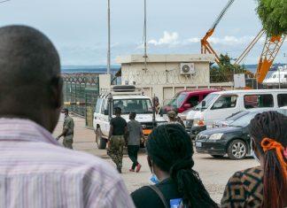 Deslocados dos ataques a Palma, Moçambique