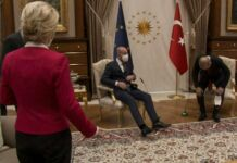 Ursula Von der Leyen na Turquia