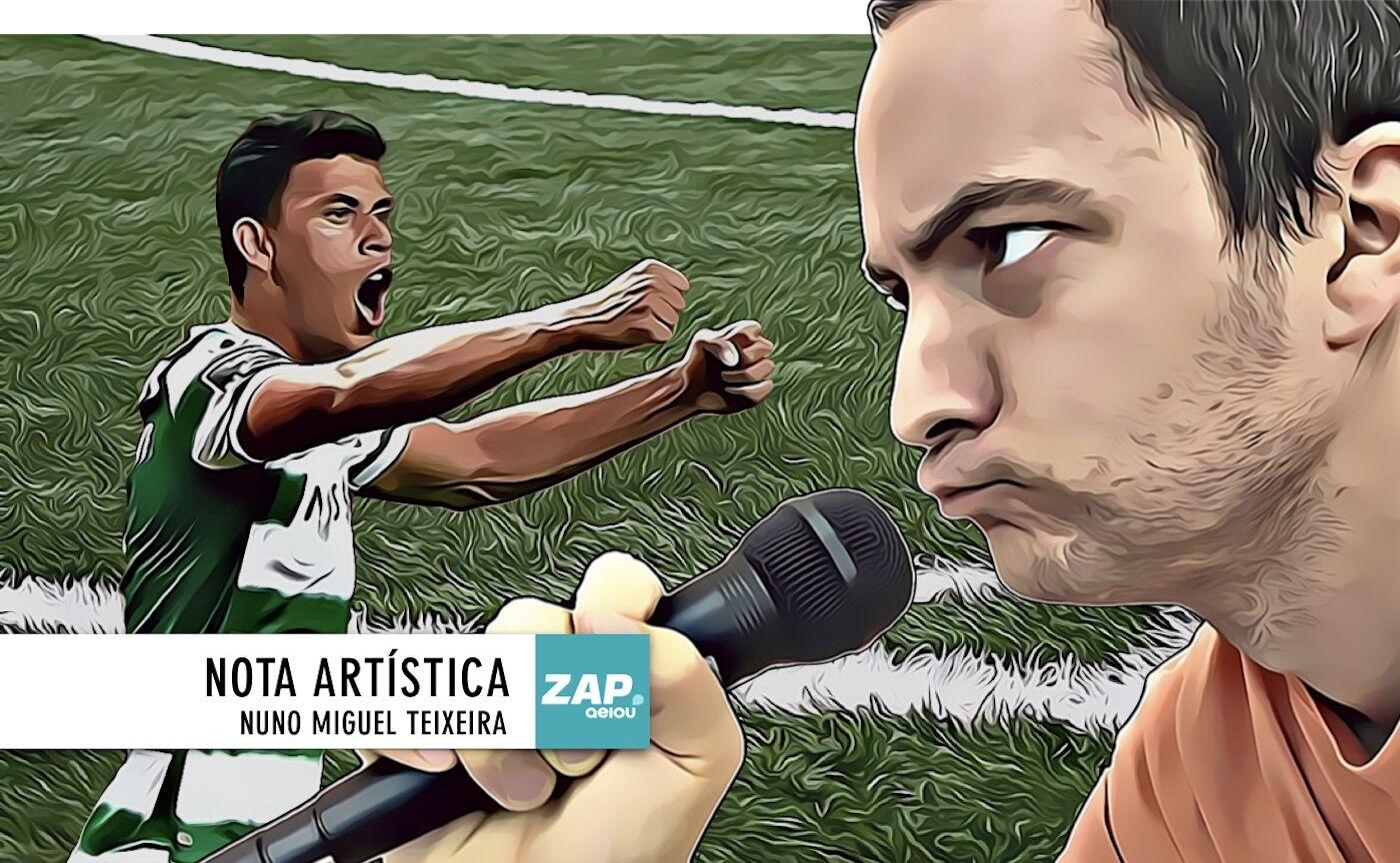 Nota artística: em Braga, liberdade para o título do Sporting