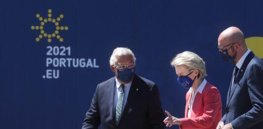 Costa, Von der Leyen na Cimeira Social no Porto