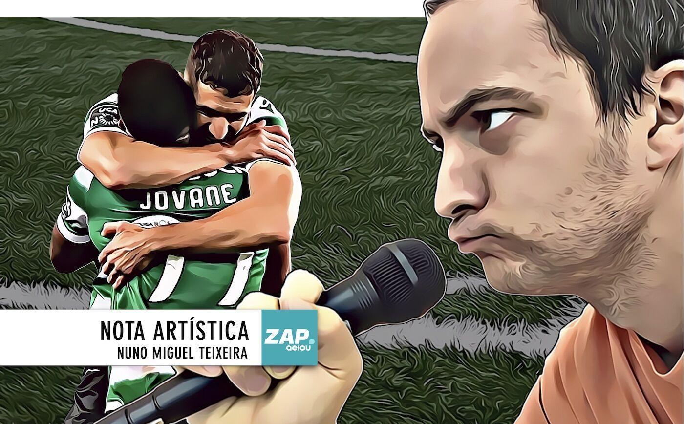 Nota artística: Deus grande para o Sporting, Deus menor para o Nacional