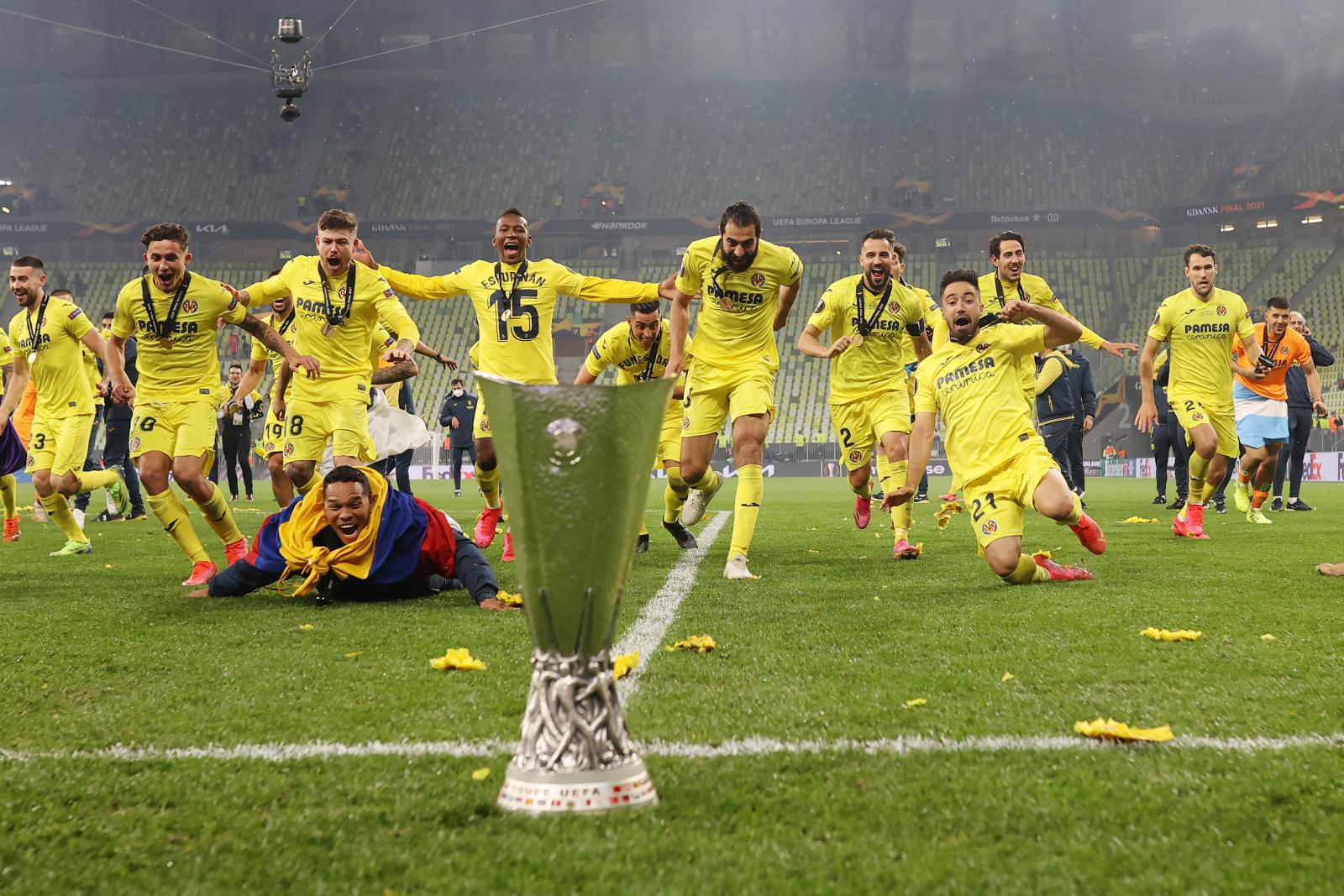 Villarreal conquista Liga Europa