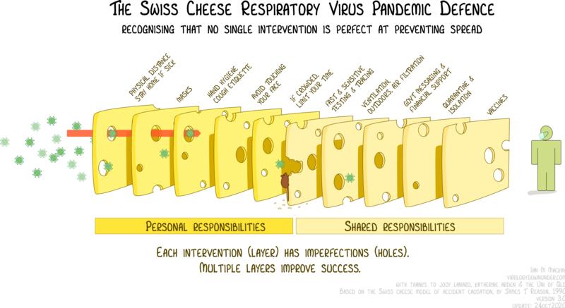 "288f3f6d62efe6897dc8ac88136efa6b Swiss cheese model. In India, the ""holes"" were too big"