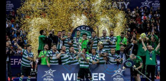 Sporting é campeão europeu de Futsal