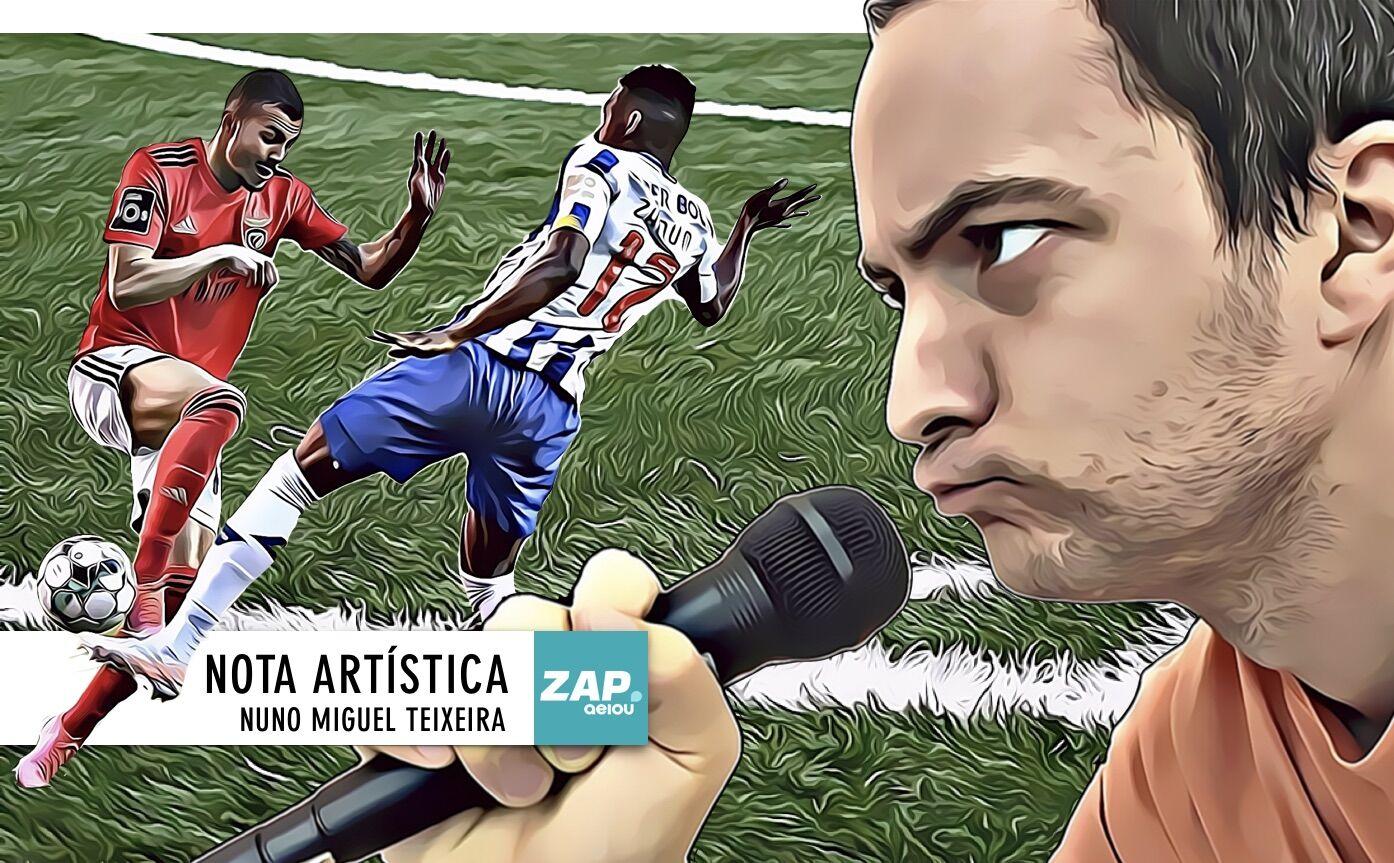 Nota artística: não há título para este Benfica-FC Porto