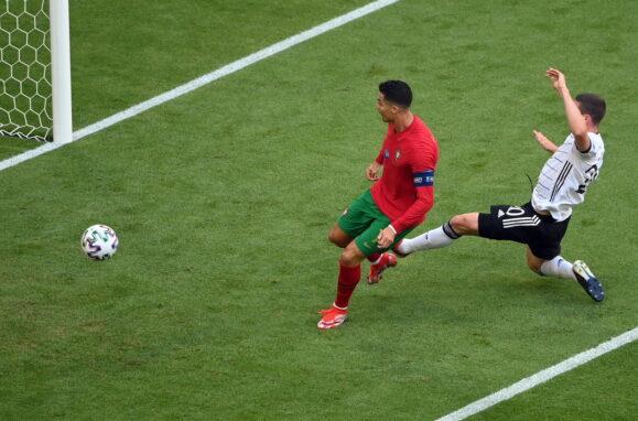 Golo de Ronaldo frente à Alemanha, seleção, Euro 2020