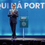 Rui Moreira na apresentação da sua recandidatura à Câmara Municipal do Porto