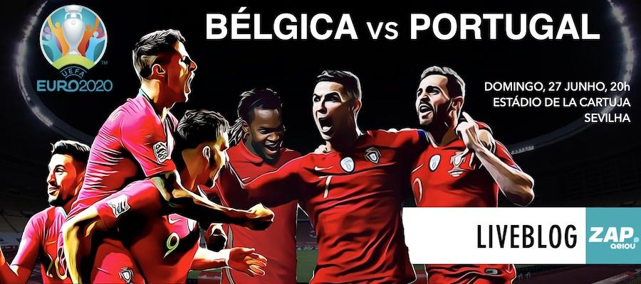 Liveblog Bélgica vs Portugal