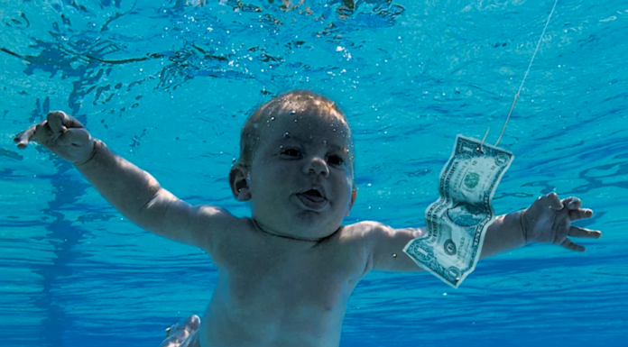 Bebé da capa Nevermind, Nirvana