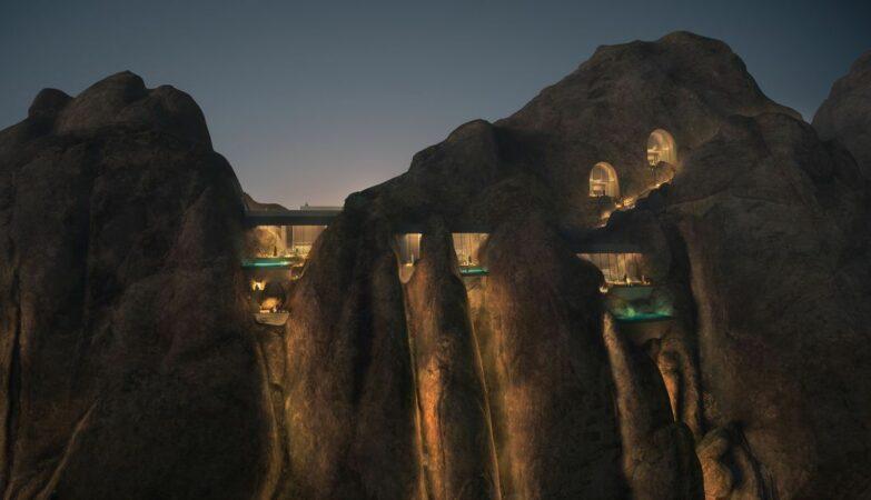 4d1bc026bb044bd3be3c4b500da0997c Luxury hotel to be built (inside a mountain) in the desert - ZAP