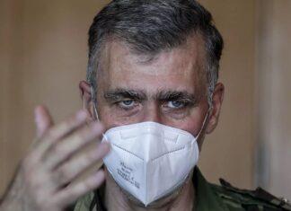O vice-almirante Henrique Gouveia e Melo, coordenador do plano de vacinação contra a covid-19 em Portugal