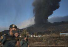 Vulcão Cumbre Vieja, em La Palma, Espanha